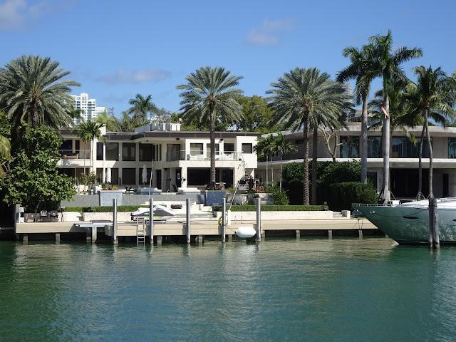 Mansiones en las islas de Miami