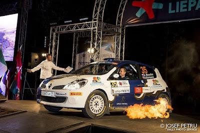 ERC Rally Liepāja