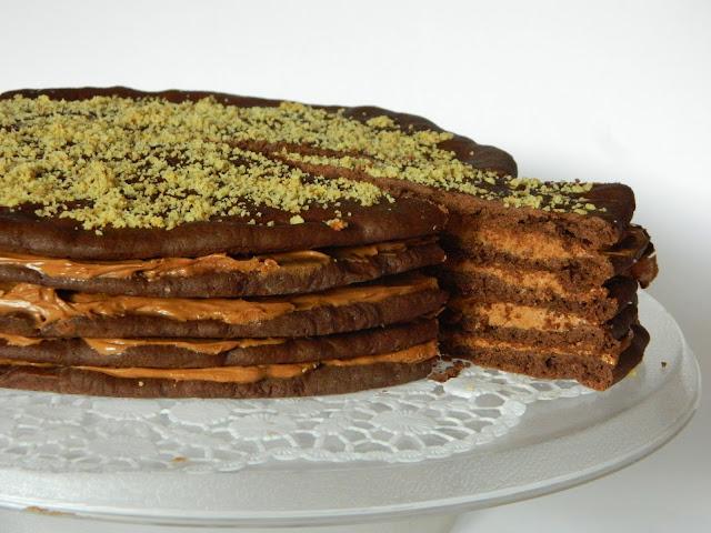 Prajitura festiva cu ciocolata