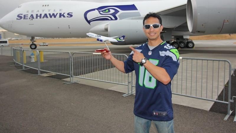 Greg Dwidjaya, orang Indonesia yang bekerja di Boeing