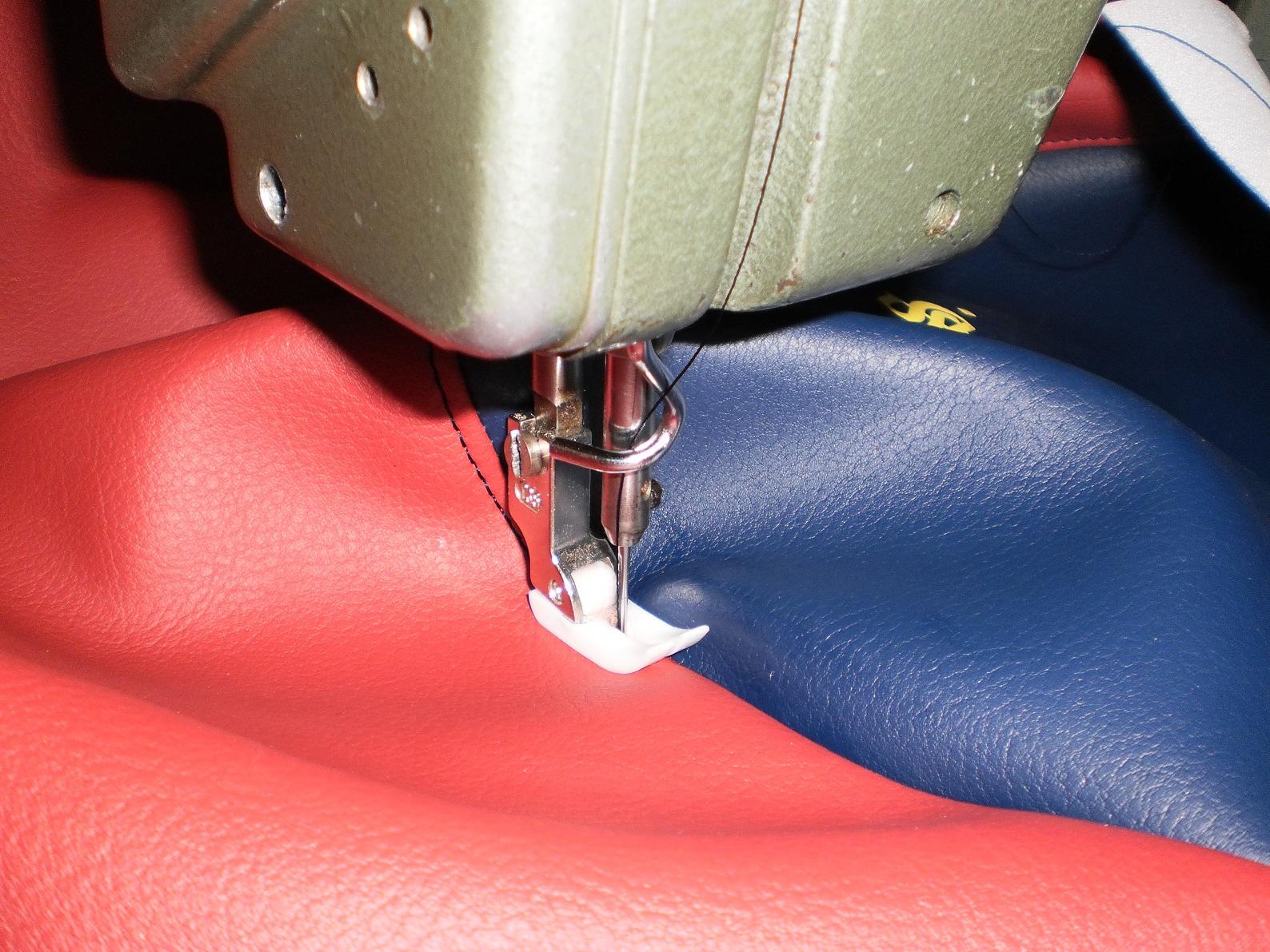 Como se tapiza un asiento de moto