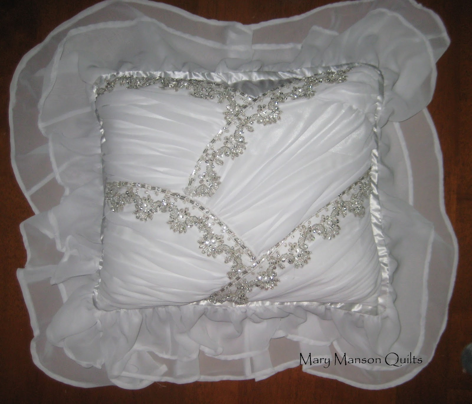 Mary Manson Quilts Wedding Dress Special Occasion