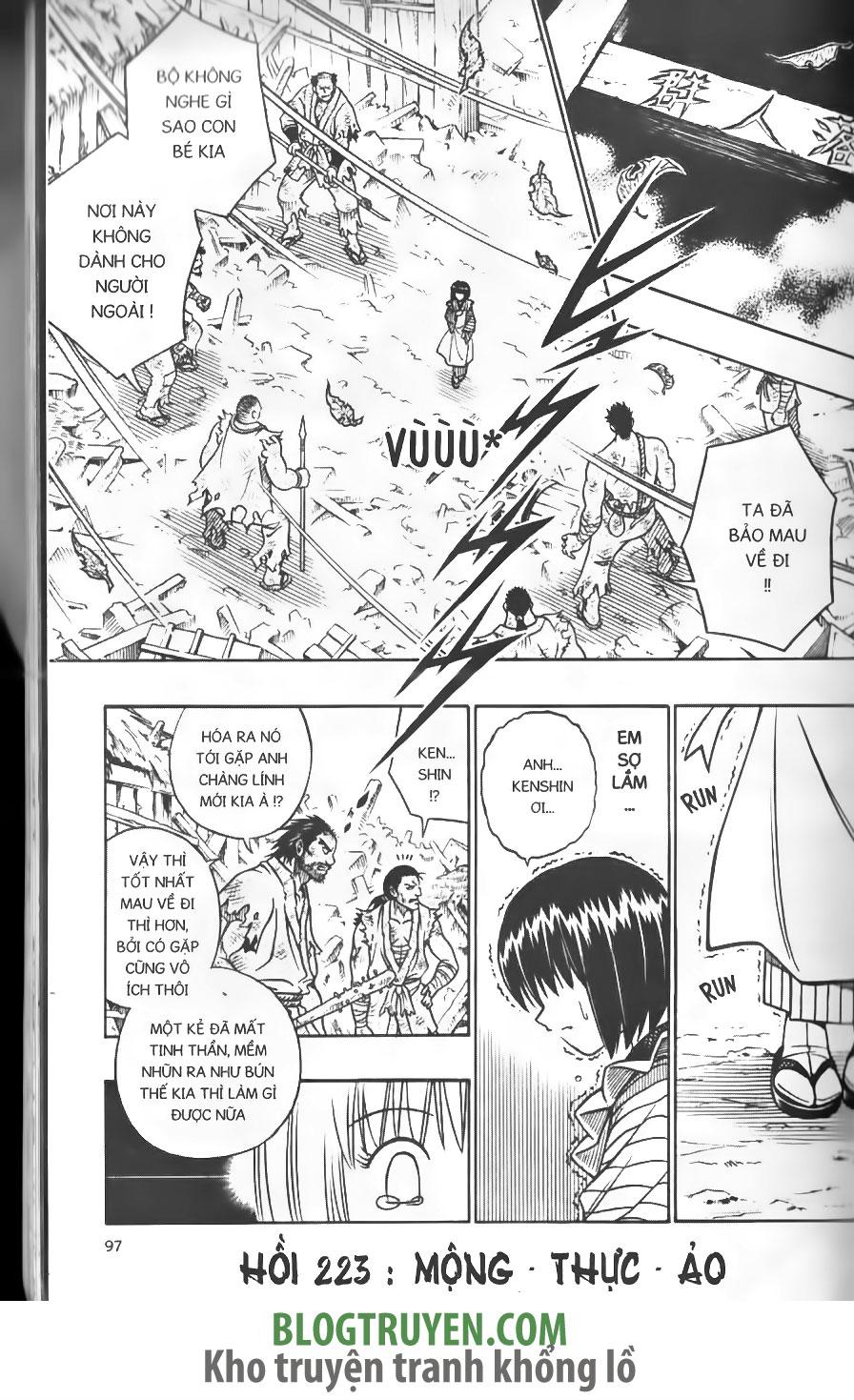 Rurouni Kenshin chap 223 trang 3