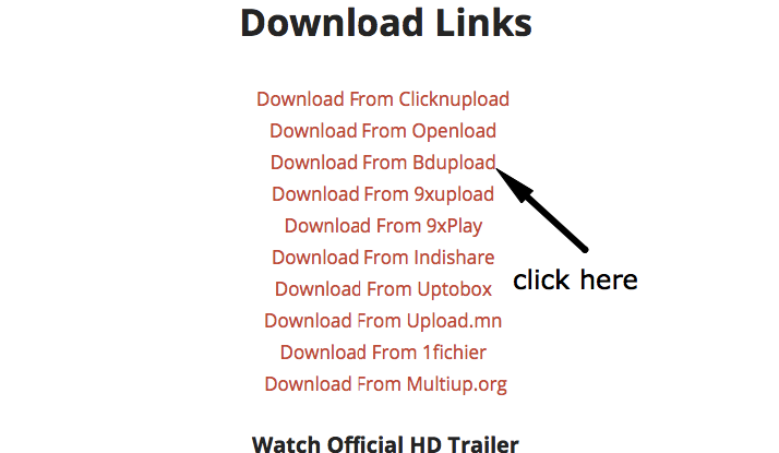 How to Download Files from Bdupload