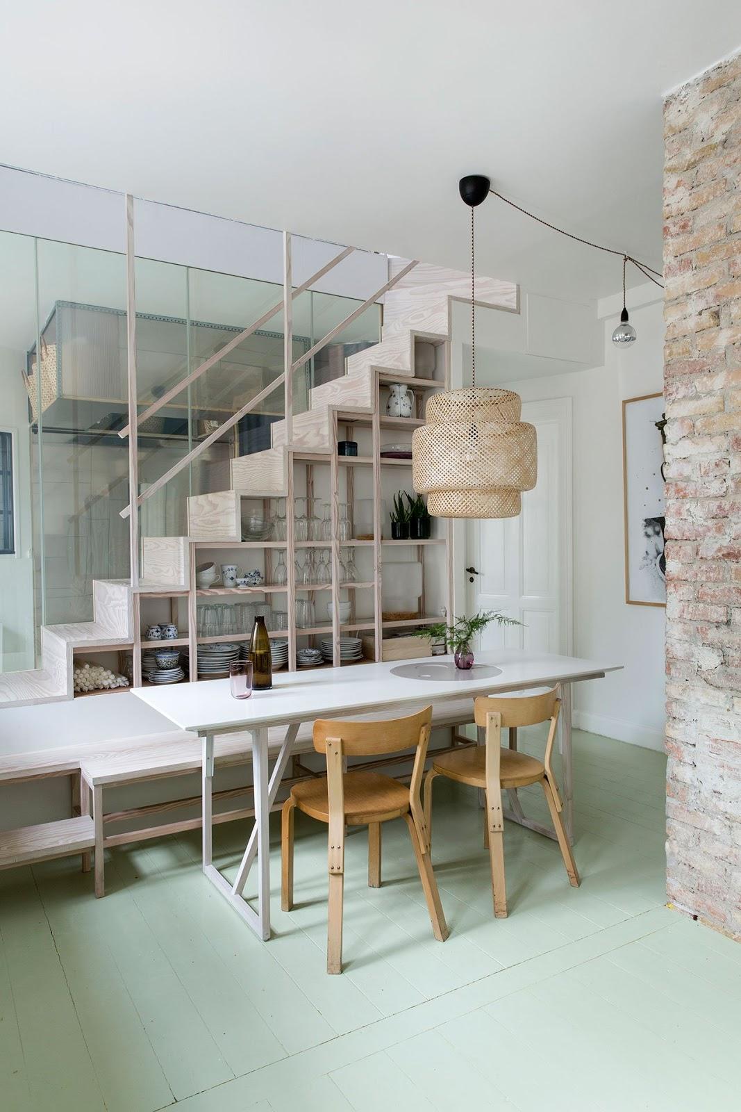 Decordemon a copenhagen apartment by spacon x for Arredamento living