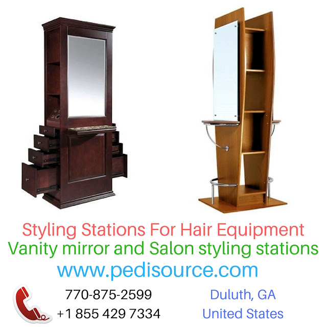 Styling Stations For Hair Equipment vanity mirror, face mirror