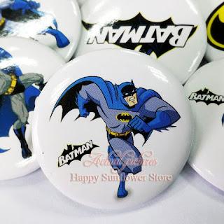 Spille spillette pins badge zaino scuola personalizzate a tema batman gadget economici fine festa compleanno bambini
