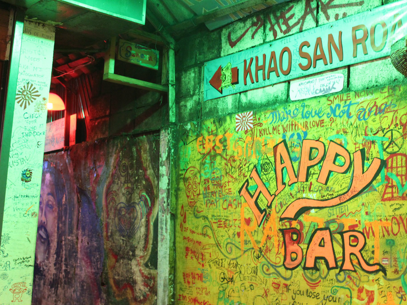 Happy Bar Khao San Road Bangkok
