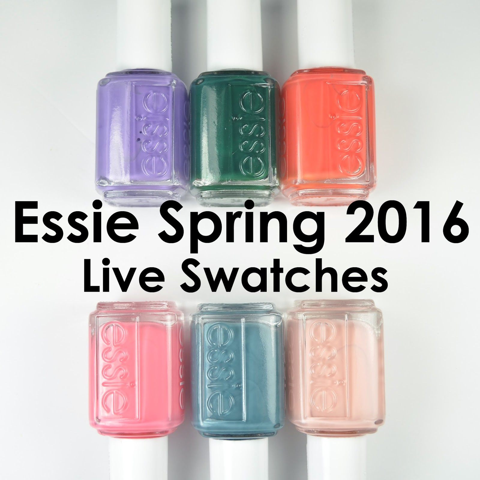 Go Polished: Essie 2016 Spring Collection Comparsions!!