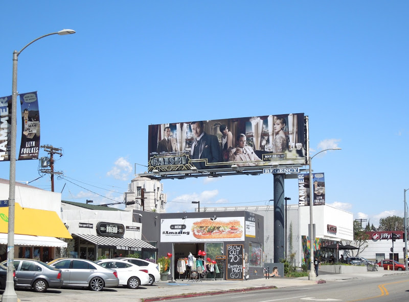 Great Gatsby billboard