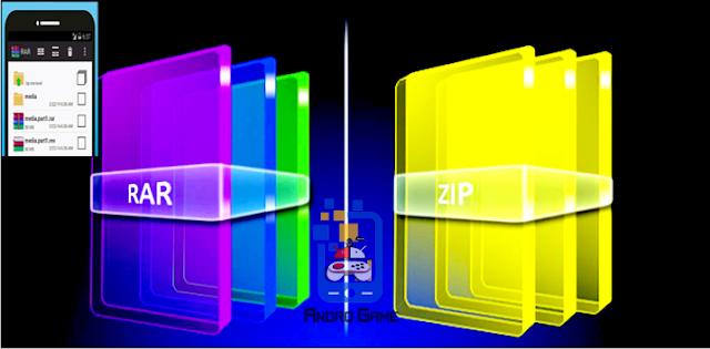 Ekstrak File Rar atau Zip