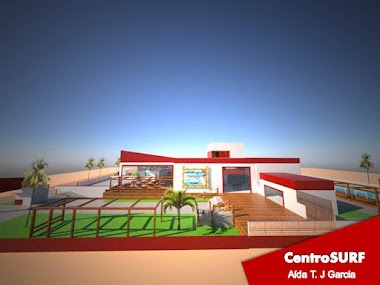 Projeto 3D Centro Surf