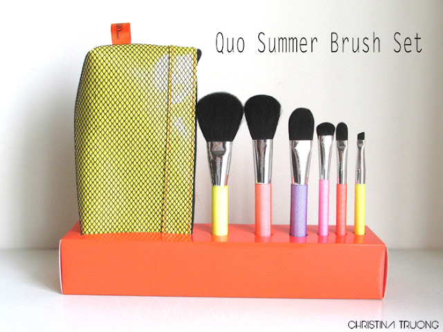 Quo Summer Brush Set Review Haul