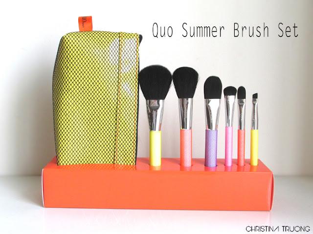 Quo Summer Brush Set Review Haul