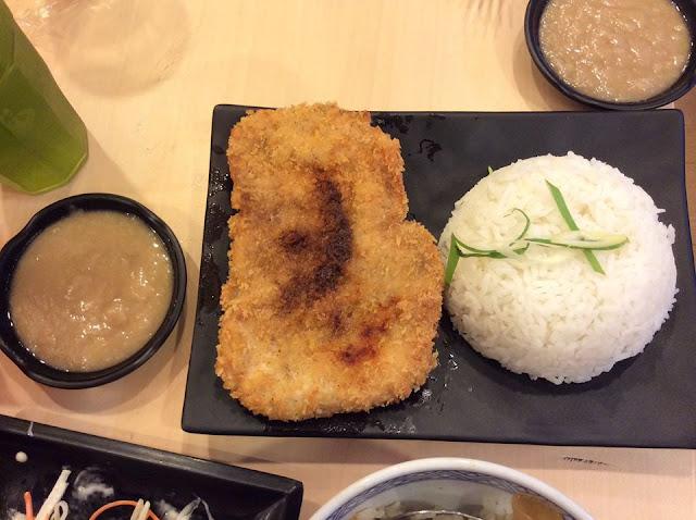Yoshinoya's latest offering, the Big Chicken