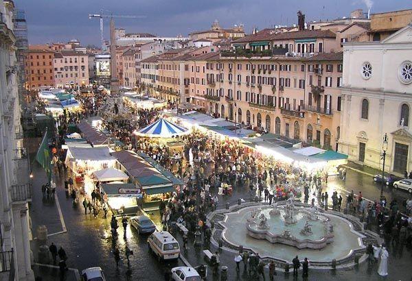 5 pontos turísticos gratuitos em Roma - piazza navona