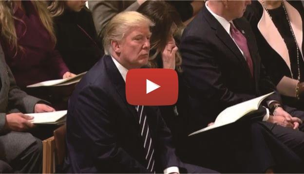 VIDEO: Beginilah Ekspresi Donald Trump Saat Mendengar Lantunan Ayat Suci Al Qur'an