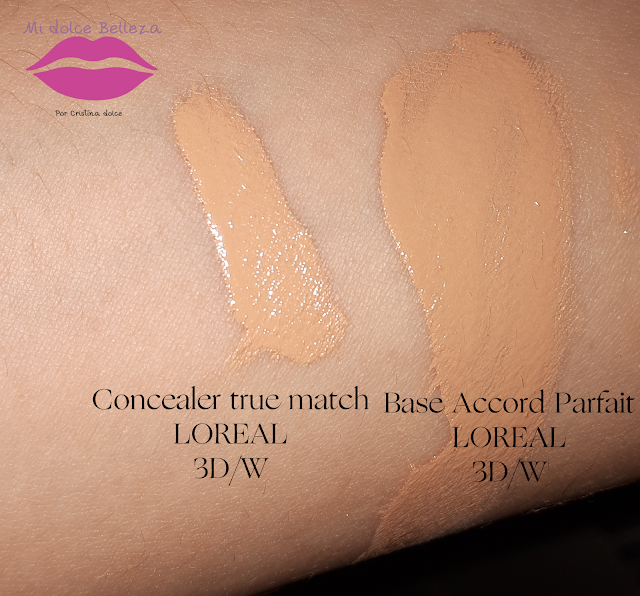 SWATCHES BASE ACCORD PARFAIT 3D CONCEALER TRUE MATCH 3D LOREAL