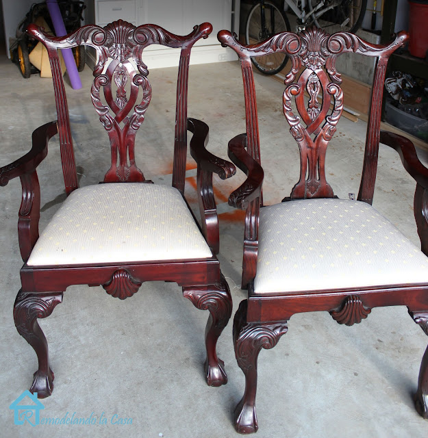 Ordinaire My First Experience With Chalk Paint   Chippendale Chair