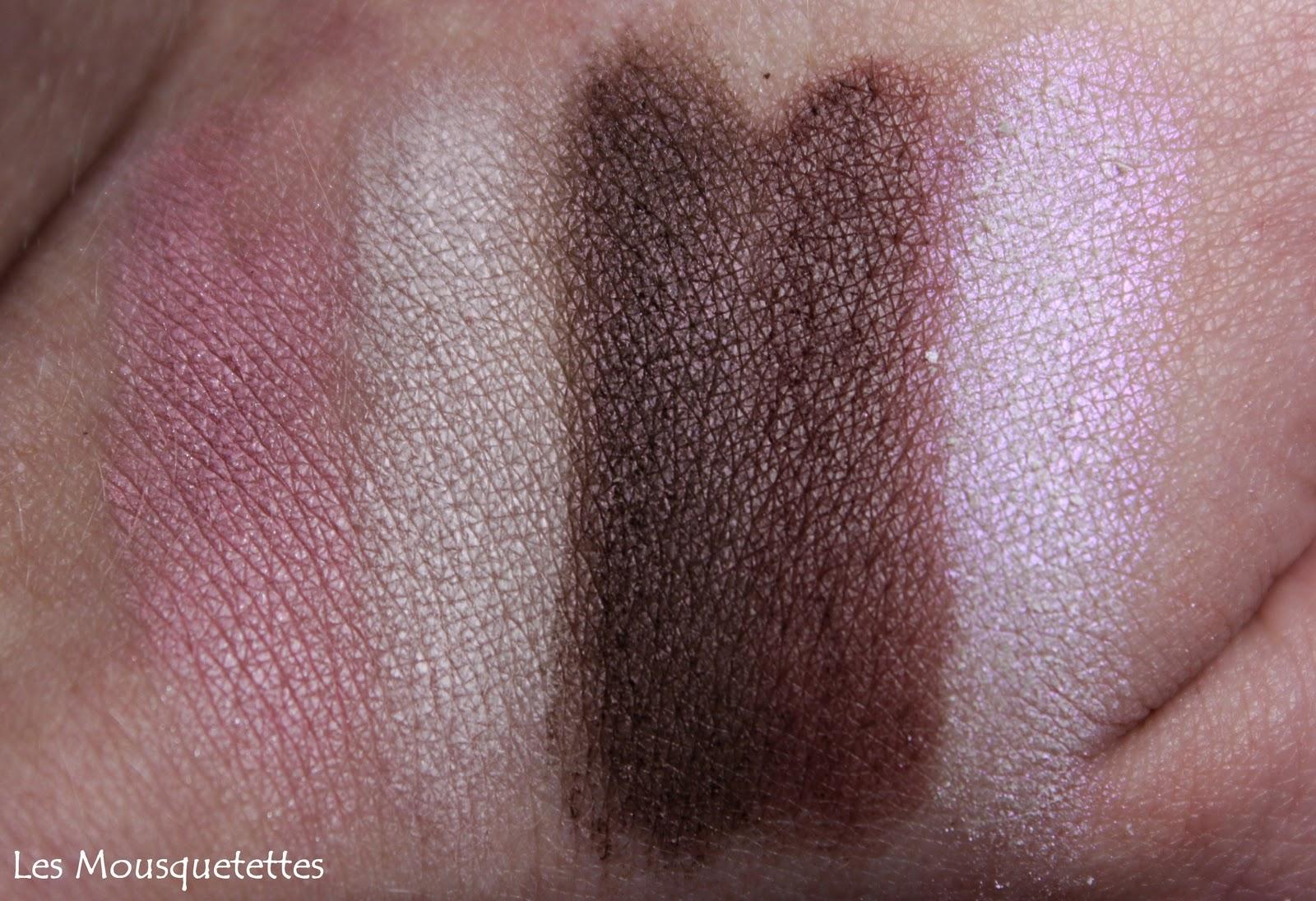 Makeup Elissance Paris Swatches Palette Dunes - Les Mousquetettes©