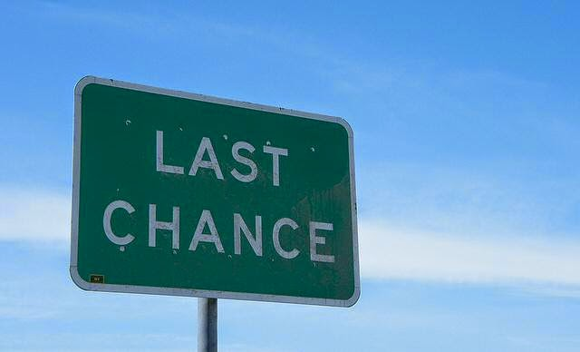 Last chance to convert