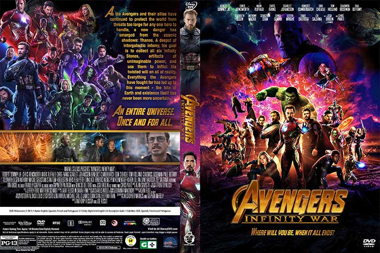 Avengers: Infinity War (2018) 720p BrRip [Dual Audio] [Hindi 5.1+English]