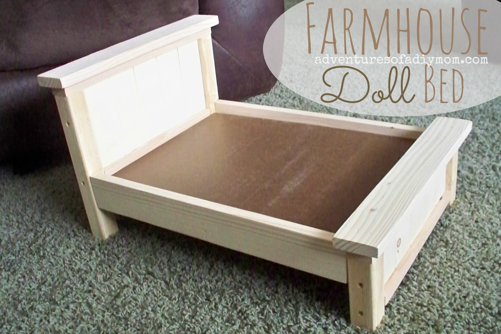 Farmhouse Doll Bed