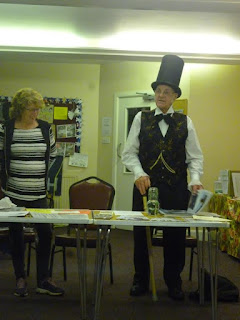 Dave Grylls aka Mr Isambard Kingdom Brunel at the September meet