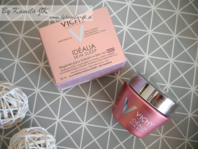 Vichy Idealia Skin Sleep regenerujący balsam w żelu na noc
