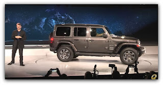 Mike Manley Introduces the new Jeep Wrangler JL