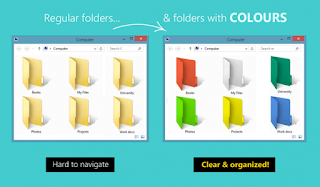 How to Change the Colour of a Folder In Windows