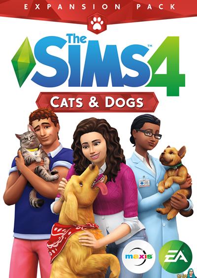 โหลดเกมส์ The Sims 4 Cats & Dogs