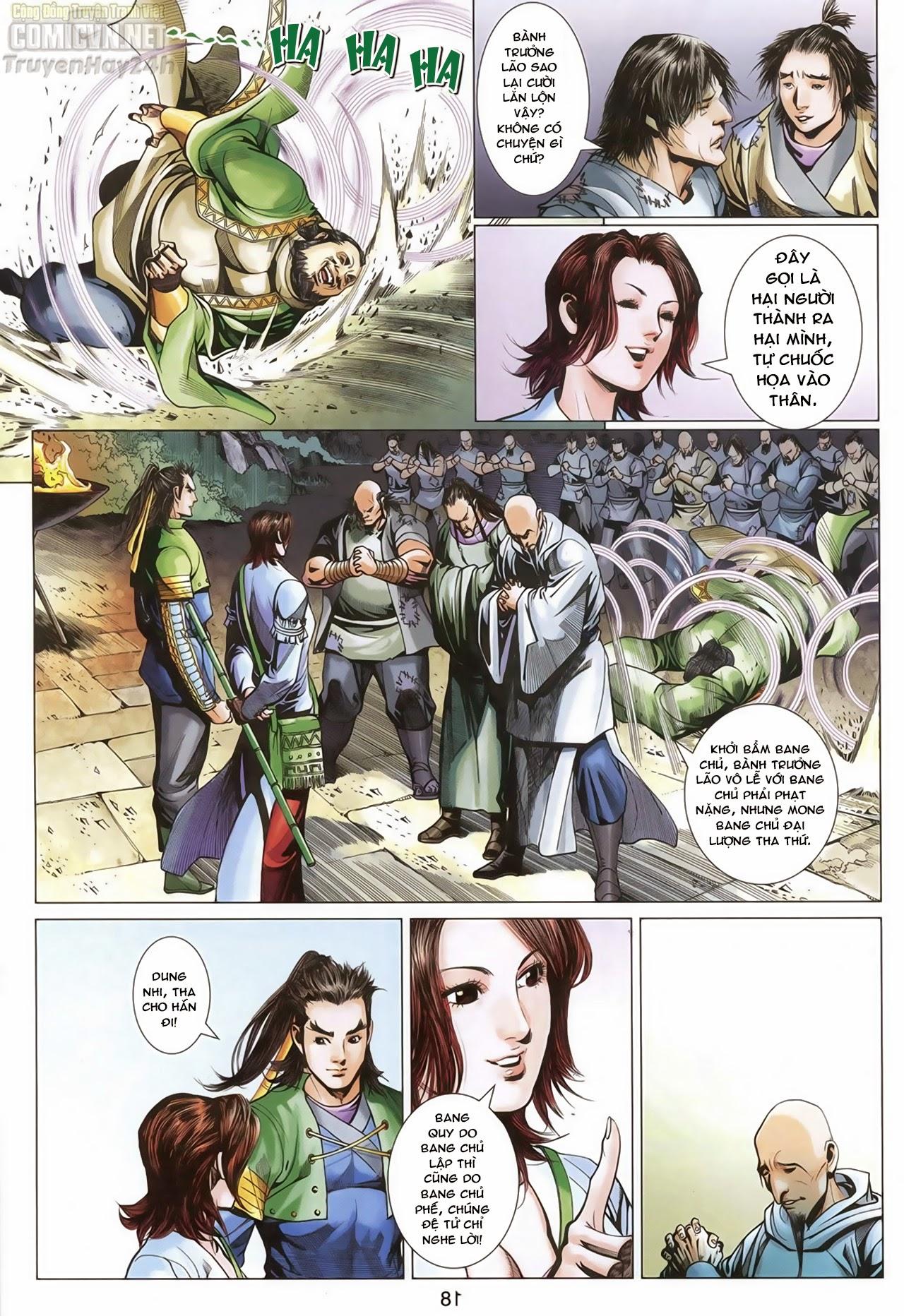 Anh Hùng Xạ Điêu anh hùng xạ đêu chap 68: di thư chân kinh - lừa tình trang 19