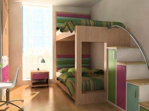 Desain Kamar Tidur Kecil Minimalis