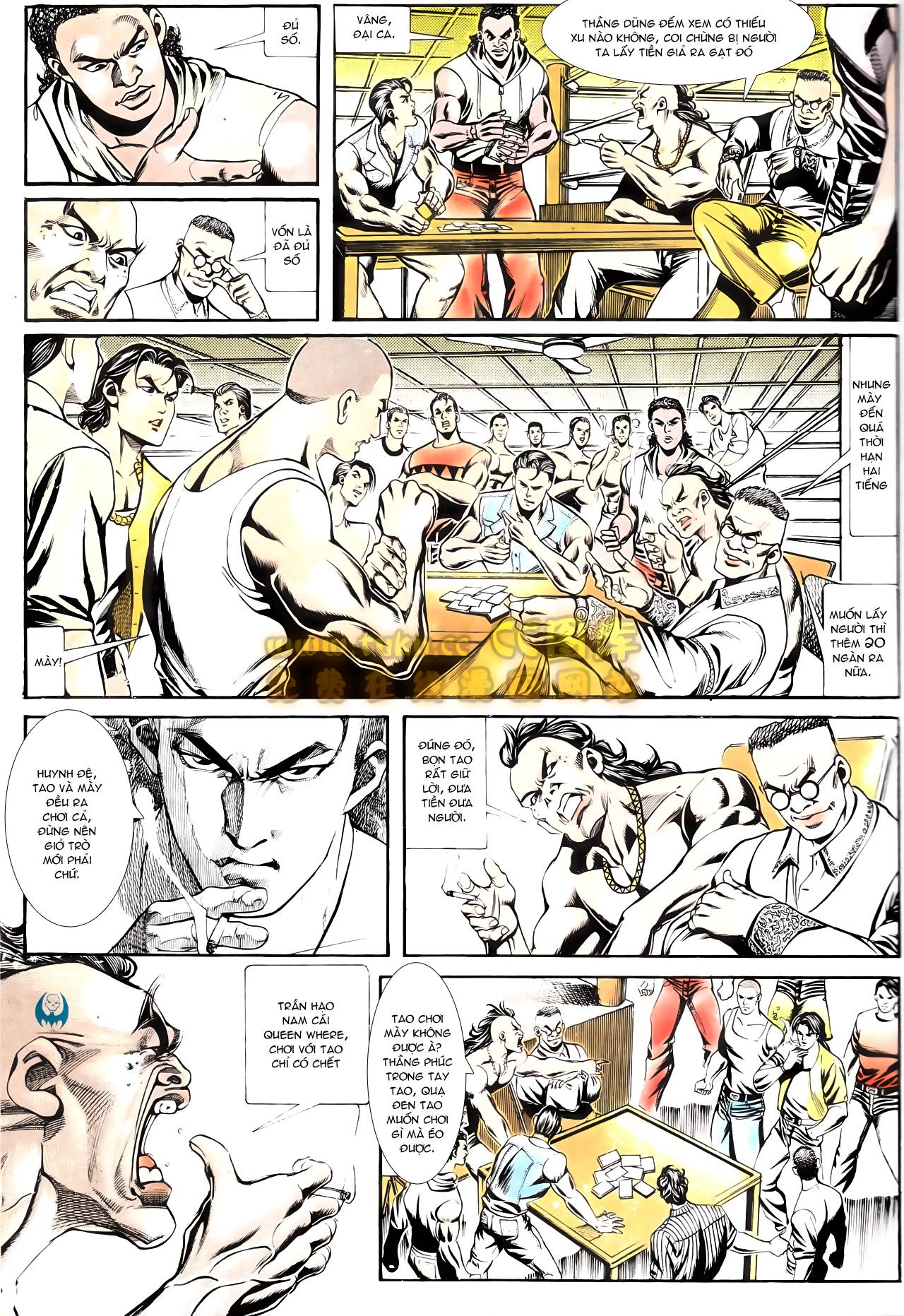 Người Trong Giang Hồ chapter 164: hạo nam chiến quạ đen trang 17