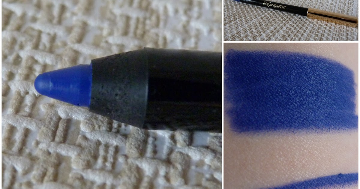 New For Summer 2012 From Ysl Swimming Pool Collection Dessin Du Regard Waterproof Eye Pencil
