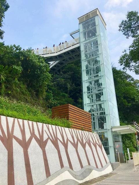 大溪中正公園景觀電梯