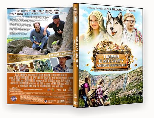 CAPA DVD – TIMBER E MICKEY AMIGOS ESPECIAIS 2018 DVD-R