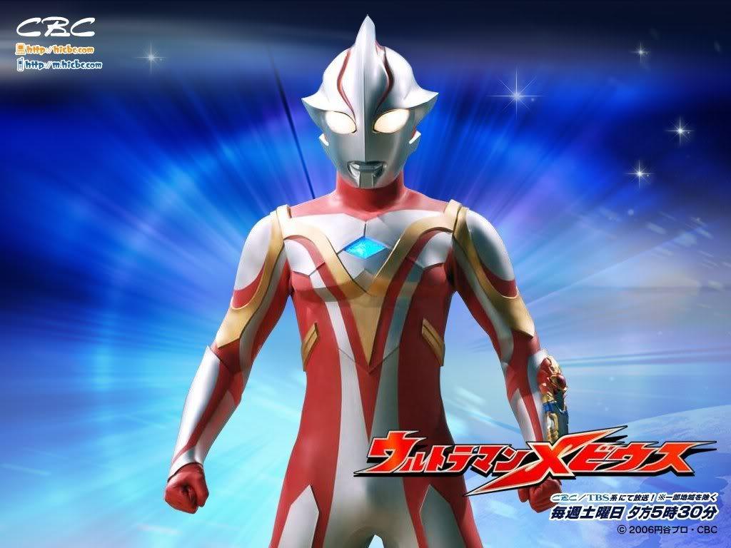 Ultraman Mebius - Tokusatsu Wallpaper