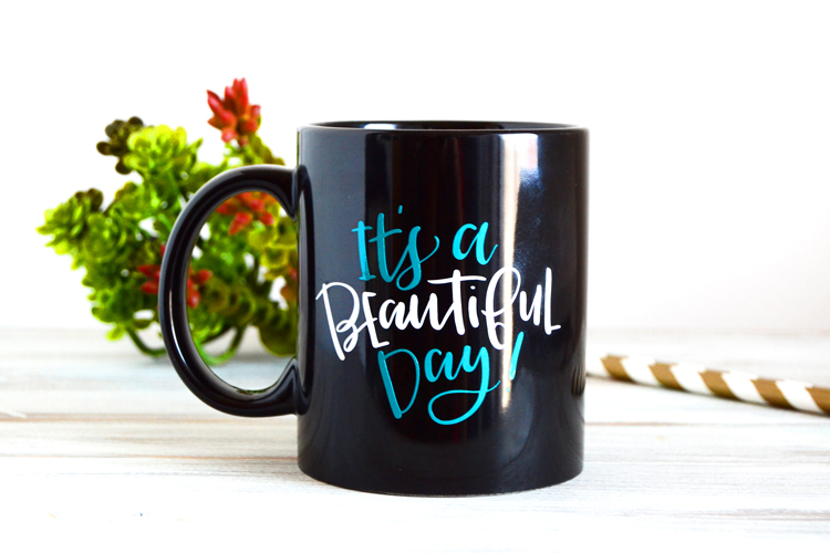 its a beautiful day mug