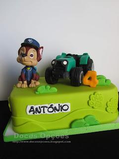 tartor bolo aniversário
