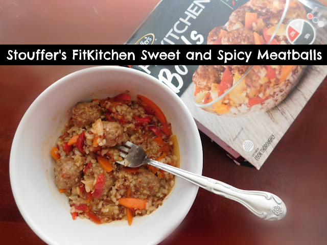 Stouffer's New FitKitchen Sweet and Spicy Meatballs