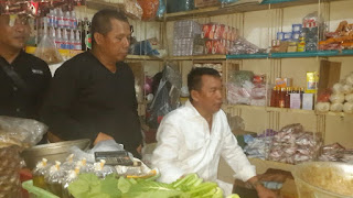 Kang Hasan Bluksukan ke Pasar Johar Karawang