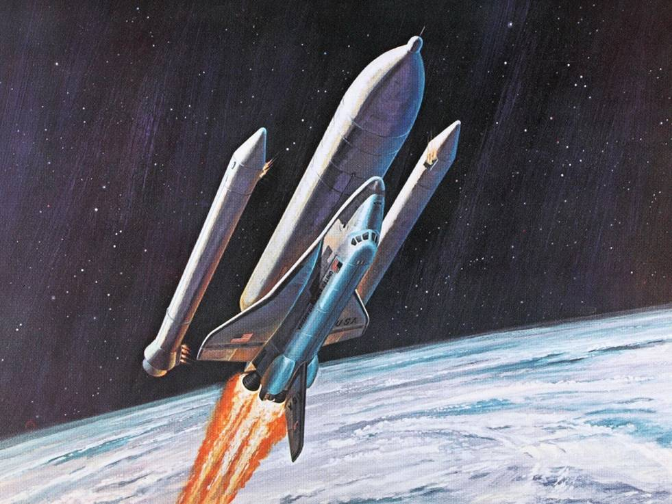 Space Shuttle Concept Art of the 1960s and 1970s Kuriositas
