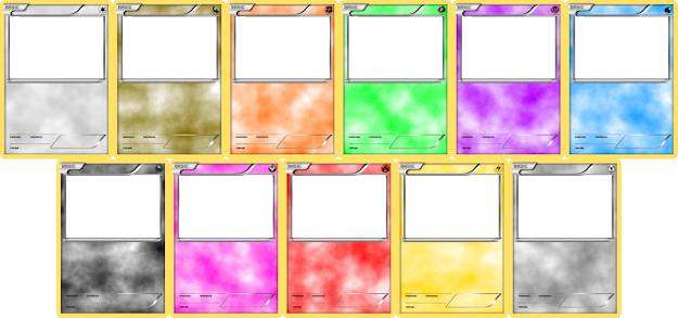 Pokemon Blank Card Templates  Basic By Levelinfinitum