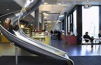 Green Pear Diaries, interiorismo, oficinas, oficinas de Google en Zurich, Suiza