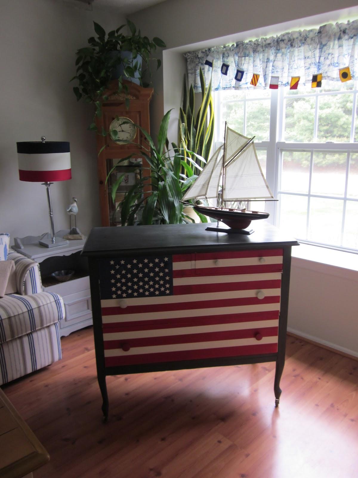 Color Me Coastal Design American Flag