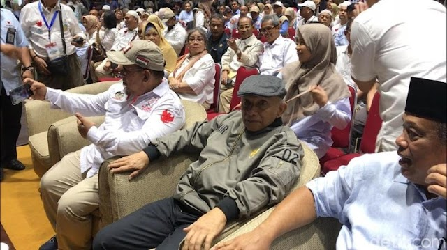 Amien Rais Bicara 'Presiden Bebek Lumpuh', TKN: Sudahlah Akui Suara Rakyat