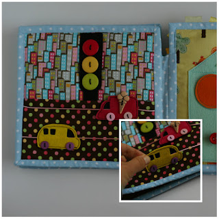 Cars quiet book page