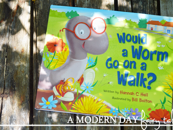 Would a Worm Go On a Walk? Teaching Kids About God's Creations {A Book Review & Giveaway} #WormOnAWalk #Flyby